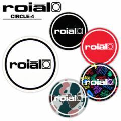 【メール便可】ロイアル (roial)CIRCLE-4 アクセサリー ステッカー[AA]