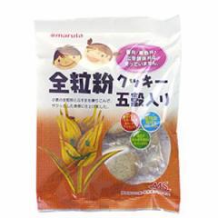 【創健社】MS 全粒粉 クッキー 五穀入 18枚(2枚×9)×6袋