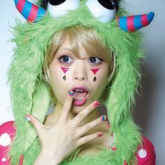 【即納】ハロウィン コスプレ 化粧 costume【コスチューム】リアル涙 モンスター【JG】タトゥーシール フェイス コスプレ 顔
