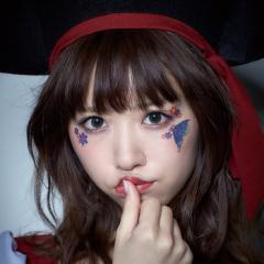 【即納】ハロウィン コスプレ 化粧 costume【コスチューム】アイシャドウButterfly【JG】タトゥーシール メイクグッズ