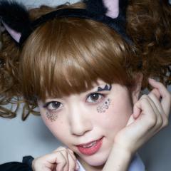 【即納】ハロウィン コスプレ 化粧 costume【コスチューム】アイシャドウNaughty cat【JG】タトゥーシール メイクグッズ