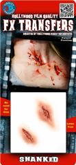 【即納】3D傷メイクシリーズ(Shanked)ハロウィン 衣装  コスチューム コスプレ キズ 怪我 血のり 血糊 シール メイクグッズ