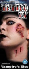 【即納】【SALE】傷タトゥーシール(Vampire kiss)/全1色ハロウィン コスチューム コスプレ 衣装 仮装 ハロウィーン メイクグッズ 怪我 特