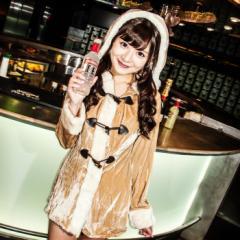 【即納】【SALE】costume【コスチューム】ダッフルトナカイ2点セット /全1色(BL)クリスマス コスプレ 仮装 衣装
