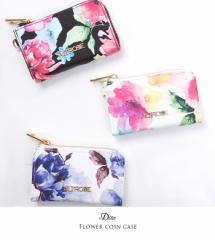 【送料無料】【即納】Dita【ディータ】水彩花柄コインケース/全3色[小物]財布 お財布 レディース【ゆうパケット2】