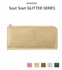 【即納】【SALE】EMODA【エモダ】Sout GLITTERウォレット(財布)/全5色[小物]お財布 レディース