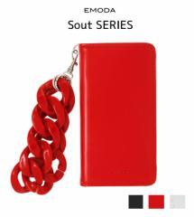 【即納】【SALE】EMODA【エモダ】【7対応】Sout I PHONE CASE CHAIN/全3色[041711032401]アイフォンケース スマホケース 手帳型