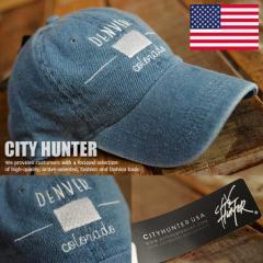USAブランド CITY HUNTER ローキャップ CH-D104-02 キャップ 帽子 メンズ レディース 正規品 DENVER 180723