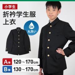 【送料無料】 小学生用 折衿学生服 上衣 (120cmA〜170cmB)【定番】