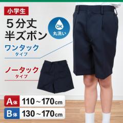 小学生用 学生服 5分丈半ズボン (110cmA〜170cmB)(取寄せ)