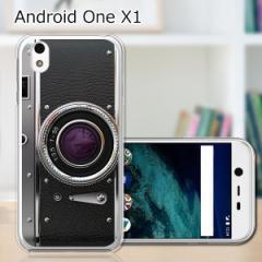 シャープ Android One X1 ワイモバイル ハードケース/カバー 【レトロCamera PCクリアハードカバー】 スマートフォンカバー・ジャケット