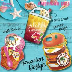 夏限定★デザイン iPhone7 6s ケース アメリカンデリ 可愛い おもしろ 女子 アメリカ 海外 原宿 POP ポップ ハワイ sweet スイーツ