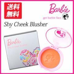 バービー シャイチーク ブラッシャー Barbie 頬紅 カワイイ キレイ 香りつき オレンジ 橙