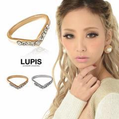 V型ストーンリング - 武田静加chan着用(nutsモデル)ルピス(LUPIS)