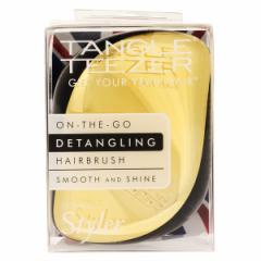 タングルティーザー TANGLE TEEZER コンパクトスタイラー ゴールドラッシュ Compact Styler Hair Brush Gold Rush
