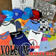 VOLCOM/ボルコム 福袋! ビーチに直行!サーフパンツ+サーフTシャツ+半袖Tシャツ+CAPの合計4点セットで送料無料の9800円