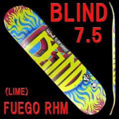 BLIND/ブラインド スケートボード デッキ FUEGO R...