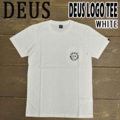 DEUS EX MACHINA/デウス エクス マキナ DEUS LOGO TEE WHITE S/S 半袖Tシャツ