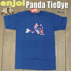 ENJOI/エンジョイ メンズ 半袖Tシャツ【PANDA TIE DYE S/S TEE BLUE】男性用T-SHIRTS スケートボード/スケボー/SK8