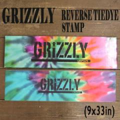 GRIZZLY/グリズリー【REVERSE TIEDYE STAMP】 9x3...