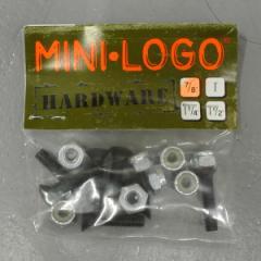 MINI-LOGO/ミニロゴ POWELL/パウエル系【HARD WARE/ハードウェア +プラス ボルト/ビス/ナット】 スケートボード用パーツ スケボーSK8