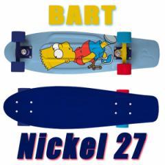 PENNY SKATEBOARDS/ペニースケートボード SIMPSONS/シンプソンファミリー コラボレート BART NICKEL/ニッケル 27 ミニクルーザースケボー