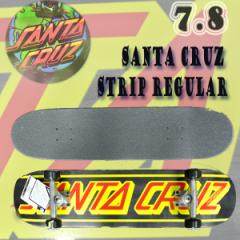 SANTA CRUZ/サンタクルーズ STRIP REGULAR 7.8 コンプリートスケートボード【送料無料】サンタクルズ SKATEBOARDS スケボー 完成品 SK8