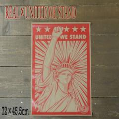 REAL/リアル × UNITED WE STAND (HUMIDITY)  POSTER/ポスター スケボー
