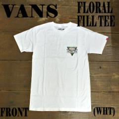 VANS/バンズ 2016 VTCS FLORAL FILL S/S TEE WHITE メンズ Tシャツ 男性用 T-shirts 半袖