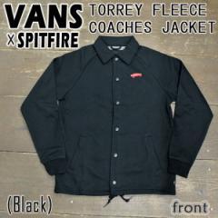 VANS/バンズ×SPITFIRE TORREY FLEECE COACHES JACKET メンズ 男性用 フリース コーチジャケット