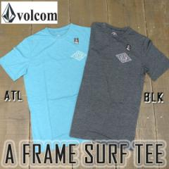 VOLCOM/ボルコム サーフTシャツ A FRAME SURF TEE S/S 男性用 水着 ラッシュガード