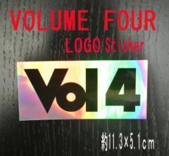 VOL4/VOLUME FOUR/ボリュームフォー LOGO SILVER ...