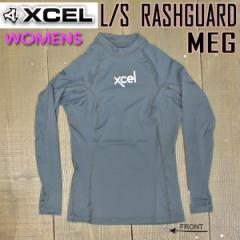 XCEL/エクセル レディース 長袖ラッシュガード PERFORMANCE 6oz UPF50+ MEG 女性用 水着