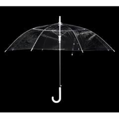 ビニール傘(透明) 60cm ワンタッチオープン