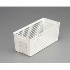 バスケット スリム(13×28.7×高さ11.5cm) ホワイト