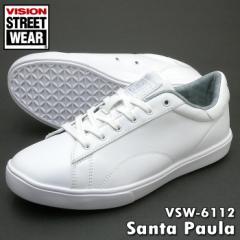 ビジョン スニーカー VSW-6112 Santa Paula サンタポウラローカットスニーカー ホワイト VSW6112/91661121