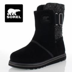 【還元祭クーポン対象】SOREL Rylee NL2370 010 Black ソレル ライリイ レディース ブーツ 防水設計