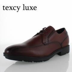 texcy luxe TU-7784 テクシーリュクス メンズ ビジネスシューズ 牛革 ワイン 2E