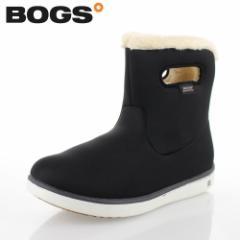 【BIGSALEクーポン対象】 ボグス BOGS 78409 ブラック レディース ブーツ ショート 防水 ウォータープルーフ ボア 保温
