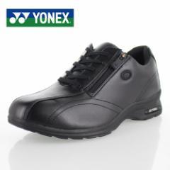 ヨネックス パワークッション レディース カジュアル YONEX SHW-LC30W BLACK 黒 スニーカー ウォーキング 軽量 女性用 靴 幅広 4.5E