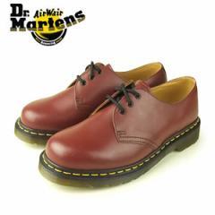【還元祭クーポン対象】ドクターマーチン Dr.Martens 1461 3EYE GIBSON SHOE CHERRY RED ROUGE SMOOTH 10085600 3ホール レディース メン