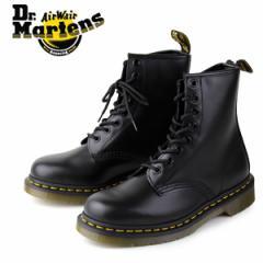 【還元祭クーポン対象】ドクターマーチン Dr.Martens 1460 8EYE BOOT BLACK SMOOTH 10072004 8ホール レディース メンズ