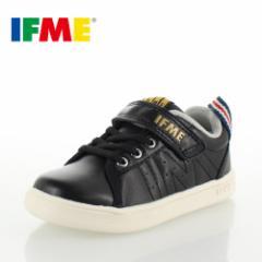 【BIGSALEクーポン対象】 子供靴 スニーカー IFME Light イフミー キッズ ジュニア シューズ 22-8007 BLACK スニーカー 通園 通学 運動靴