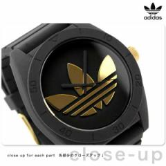 アディダス サンティアゴ メンズ ADH2712 adidas 腕時計 ブラック×ゴールド