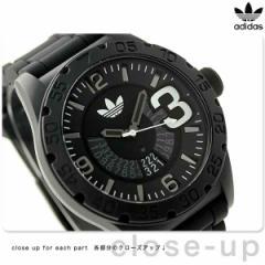 アディダス ニューバーグ クオーツ メンズ 腕時計 ADH2963 adidas オールブラック