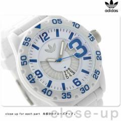 アディダス オリジナルス ニューバーグ メンズ 腕時計 ADH3012 adidas クオーツ ホワイト×ブルー