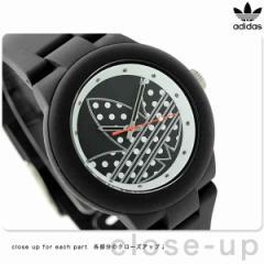 【あす着】アディダス オリジナルス アバディーン ユニセックス ADH3050 adidas 腕時計 ブラック×ドット