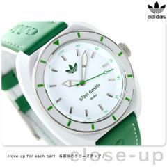 【あす着】アディダス オリジナルス スタン スミス クオーツ 腕時計 ADH9086 adidas ホワイト×グリーン