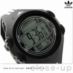 【あす着】アディダス パフォーマンス クエストラ XL メンズ 腕時計 ADP6081 adidas クオーツ ブラック×ホワイト