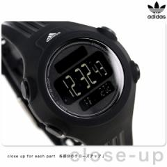 アディダス クエストラ ミッド ランニングウォッチ 腕時計 ADP6086 adidas オールブラック